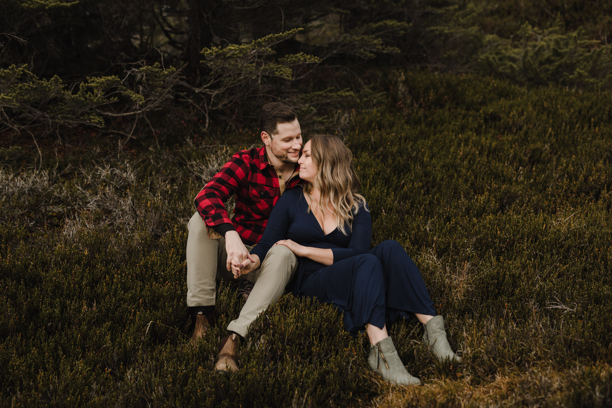 BC Mountain Top Engagement Photographer - outdoor adventure engagement