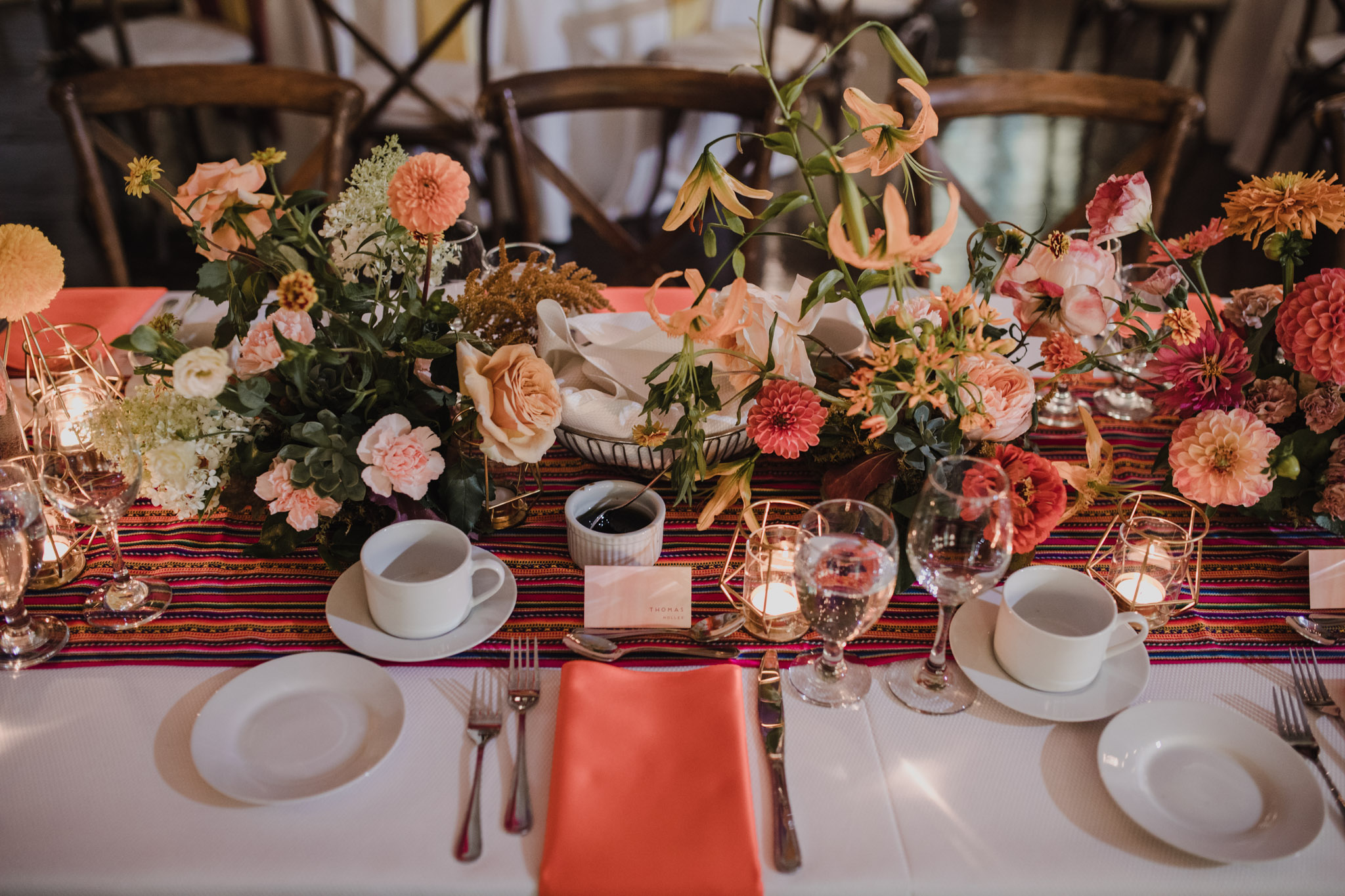 Berkeley Church Wedding - Love By Lynzie Table florals