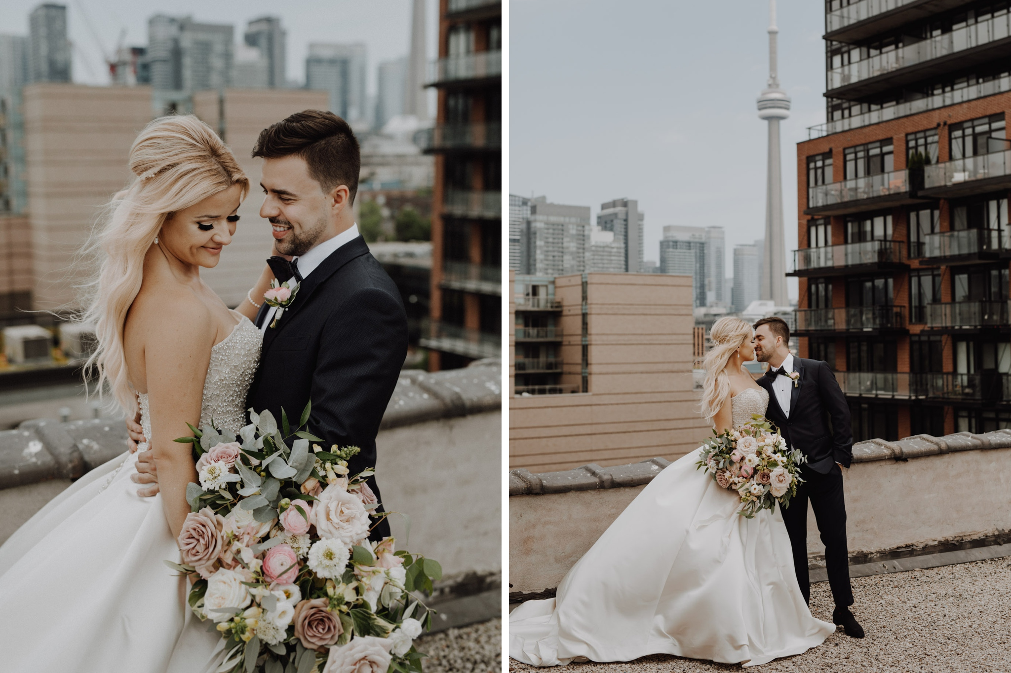 Toronto skyline portraits. Love By Lynzie. Wedding Photographer Jennifer See Studios.