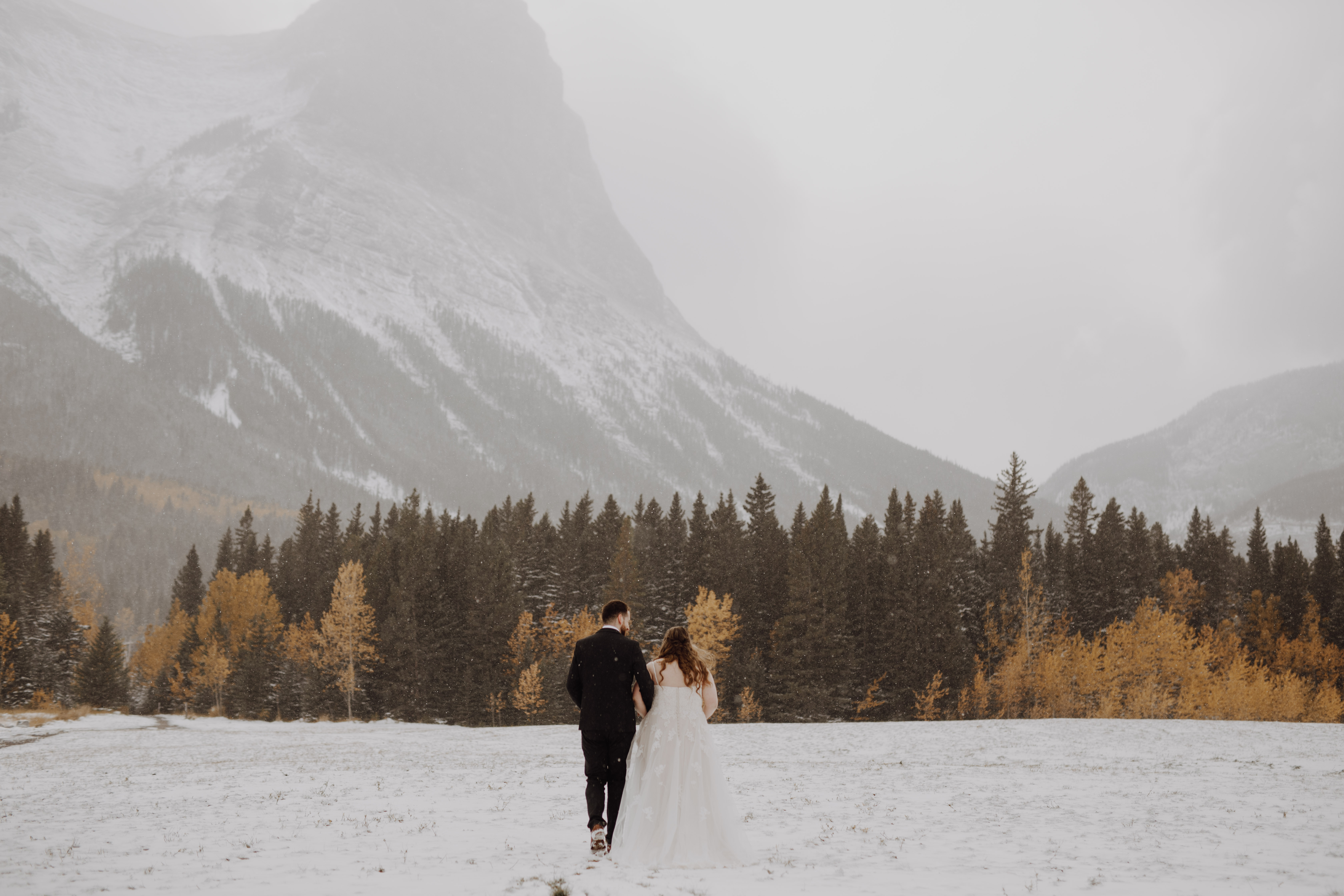 Banff Wedding in the mountains