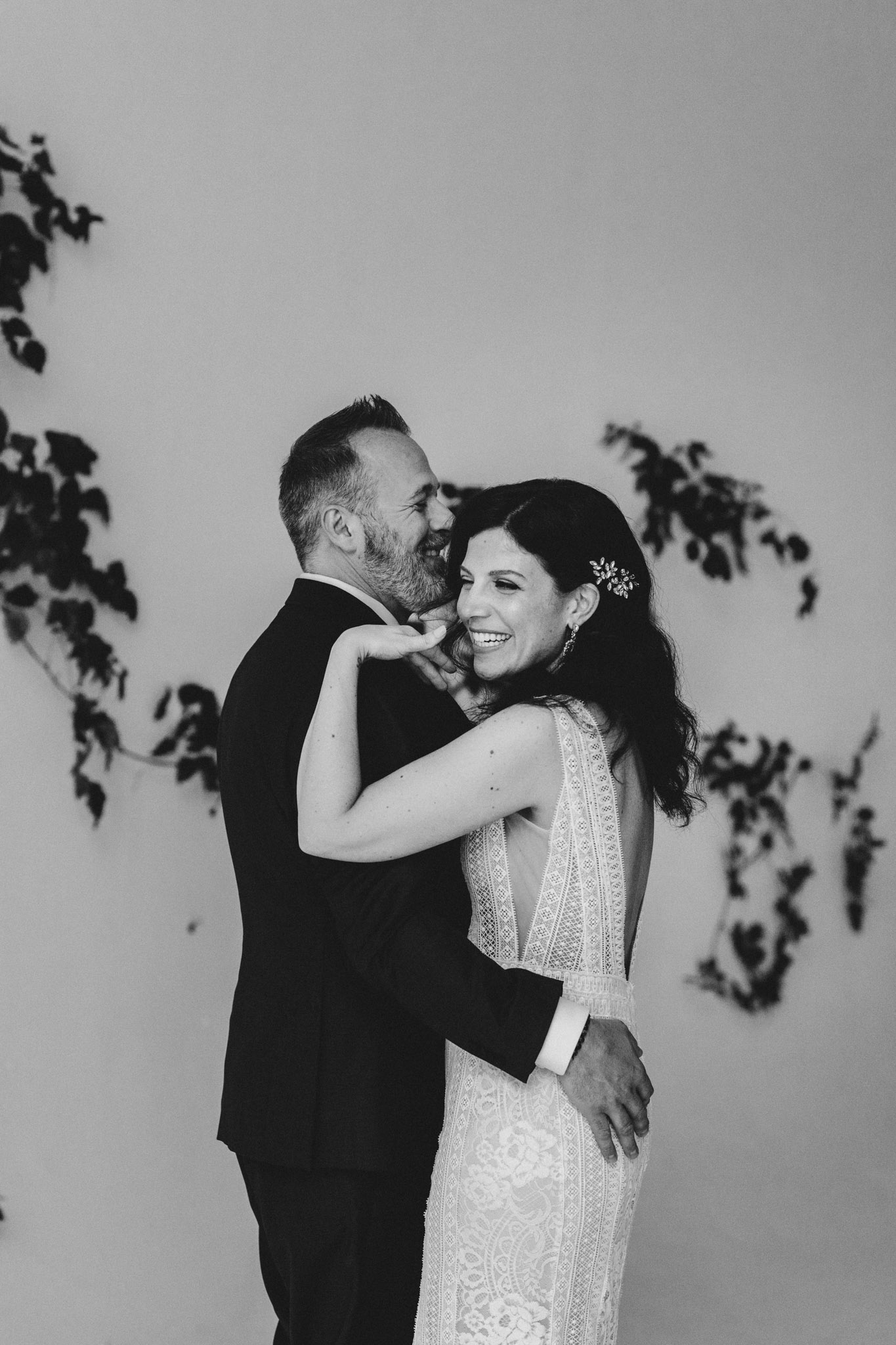 District 28 Wedding Toronto - bride and groom first dance