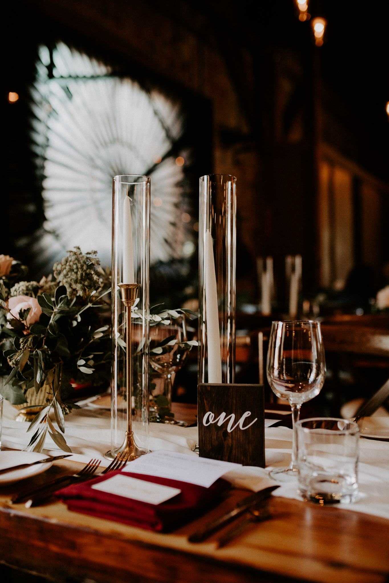 Archeo Wedding- Table Decor Details - Distillery District