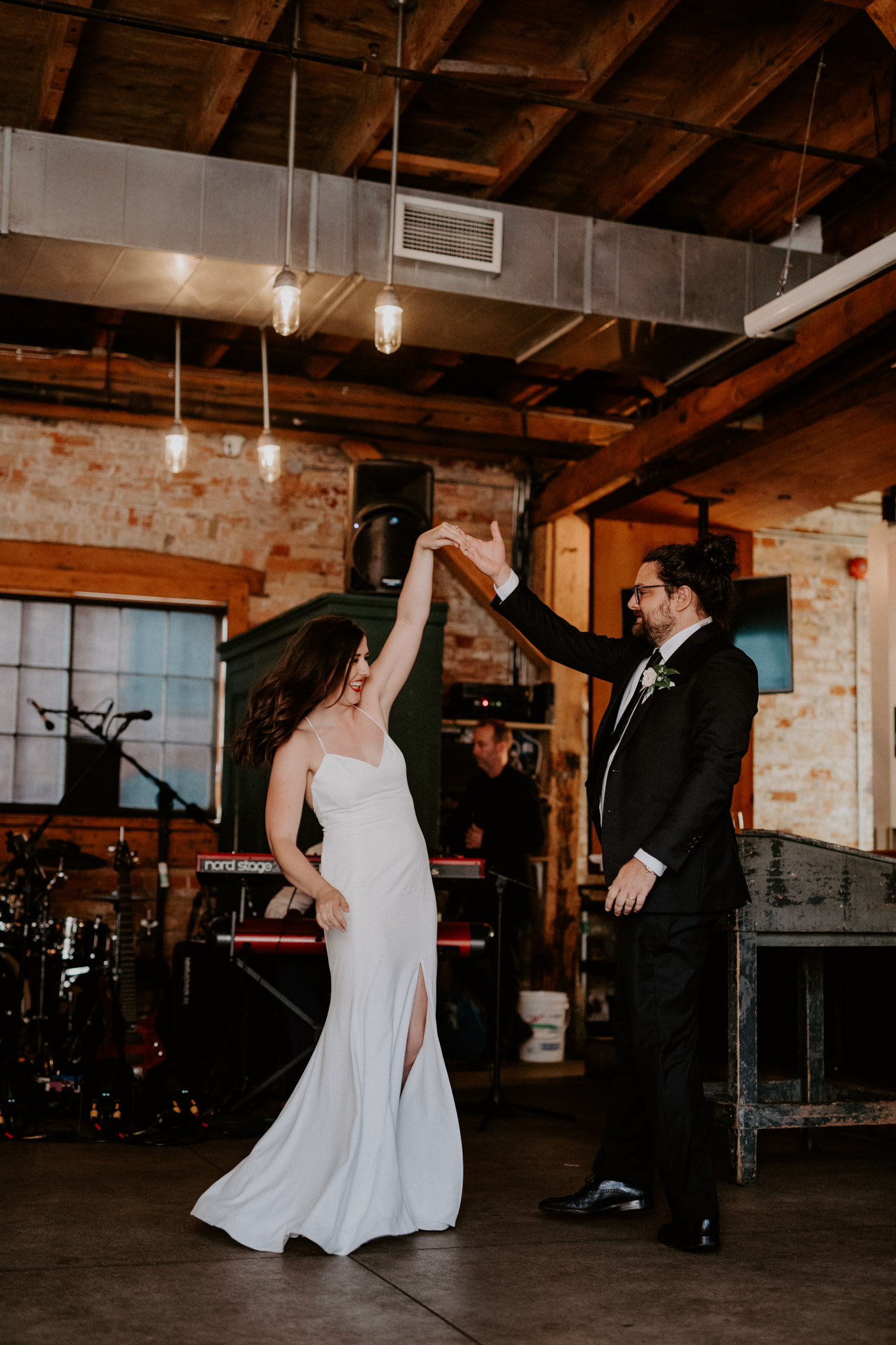 Archeo Wedding- Bride and Groom First Dance - Distillery District