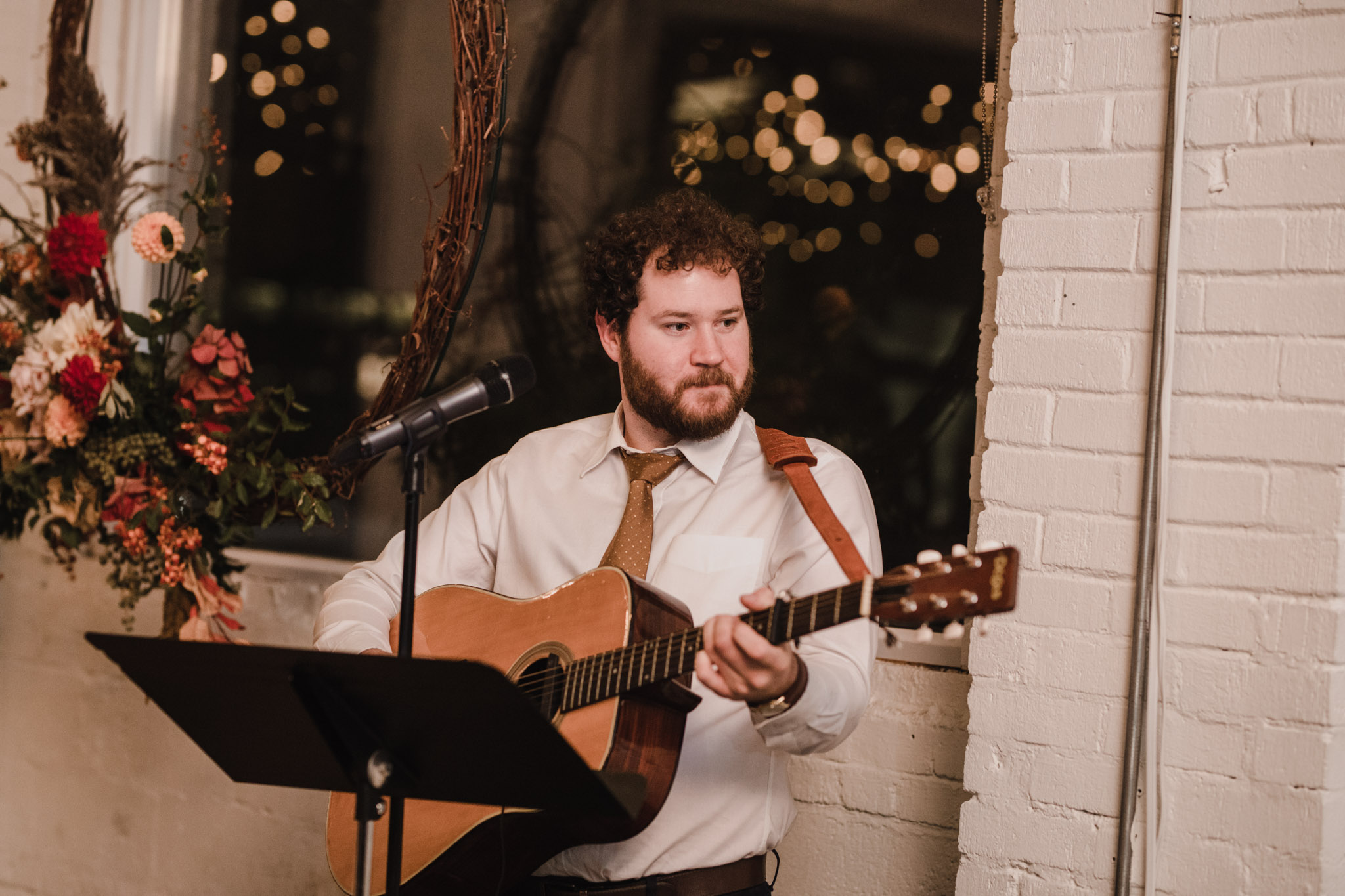 Toronto Coffee Shop Wedding - Propeller cafe - live music