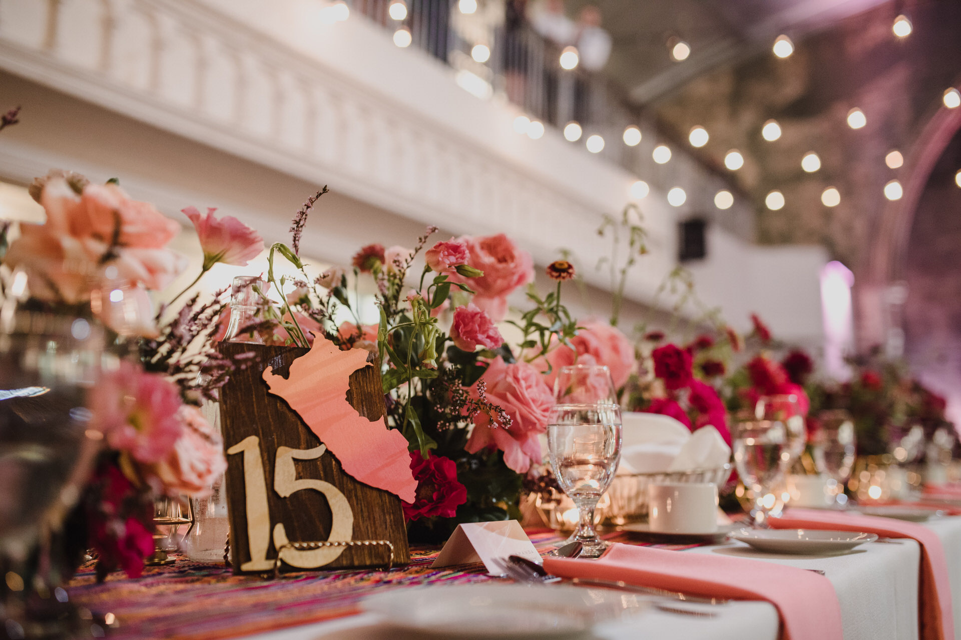 Berkeley Church Wedding - Love By Lynzie Table decor