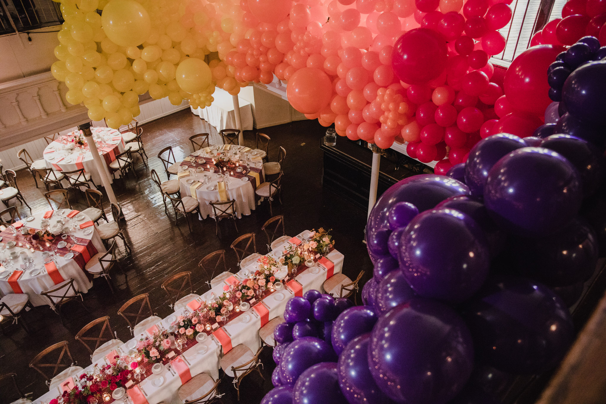 Berkeley Church Wedding - Love By Lynzie balloon details