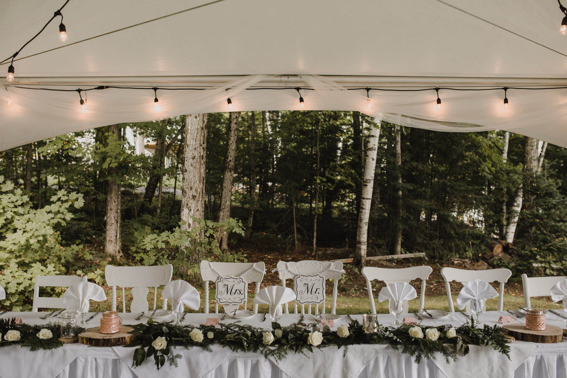 Muskoka Wedding - cottage wedding