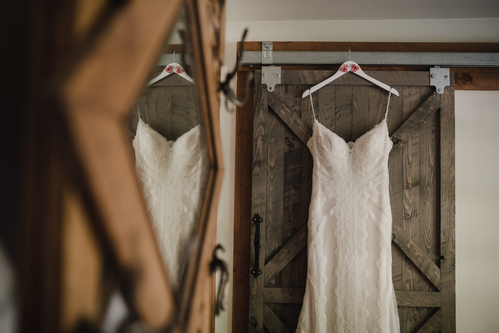 Muskoka Wedding - dress shot