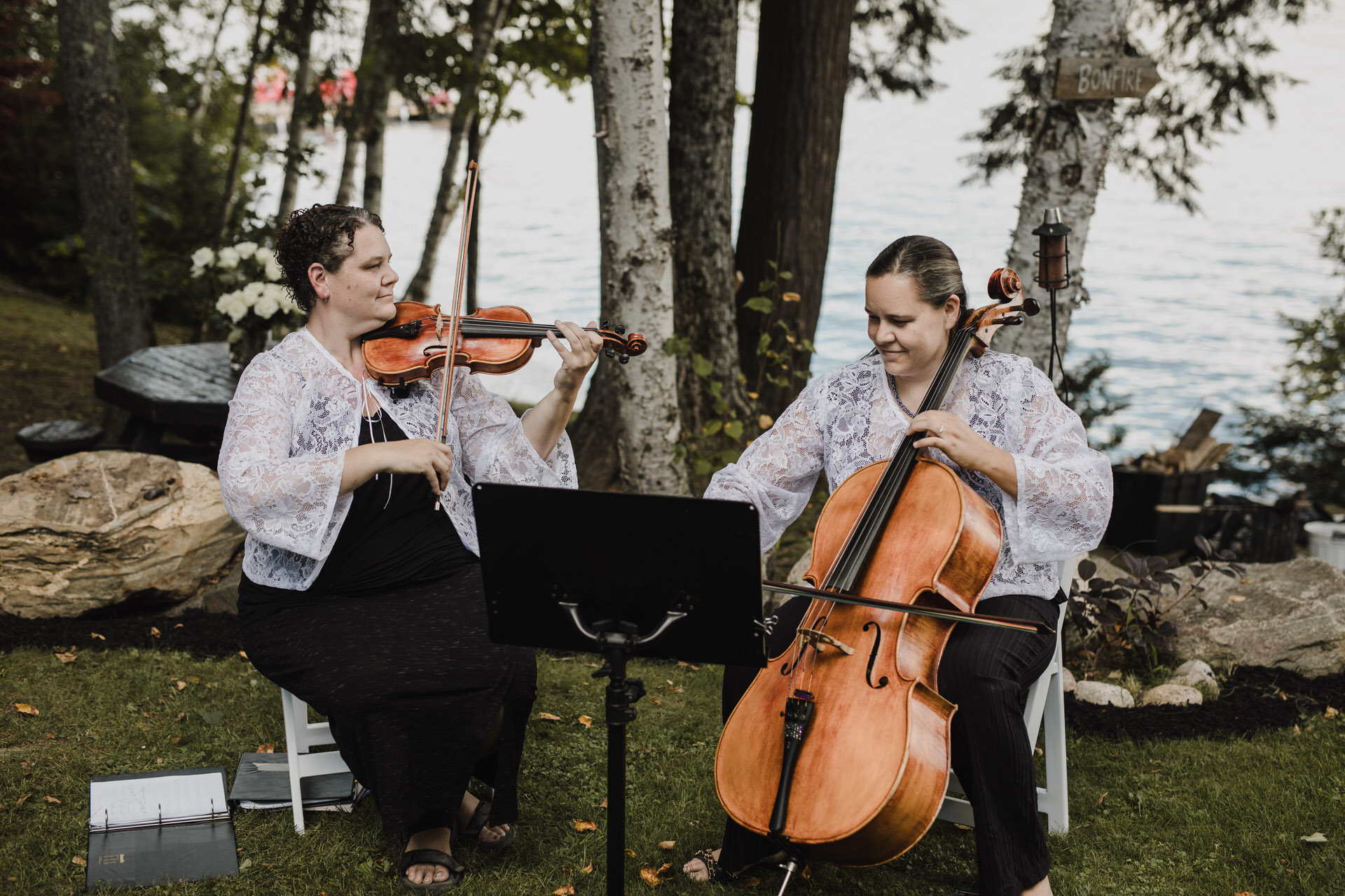 Muskoka Wedding - strings