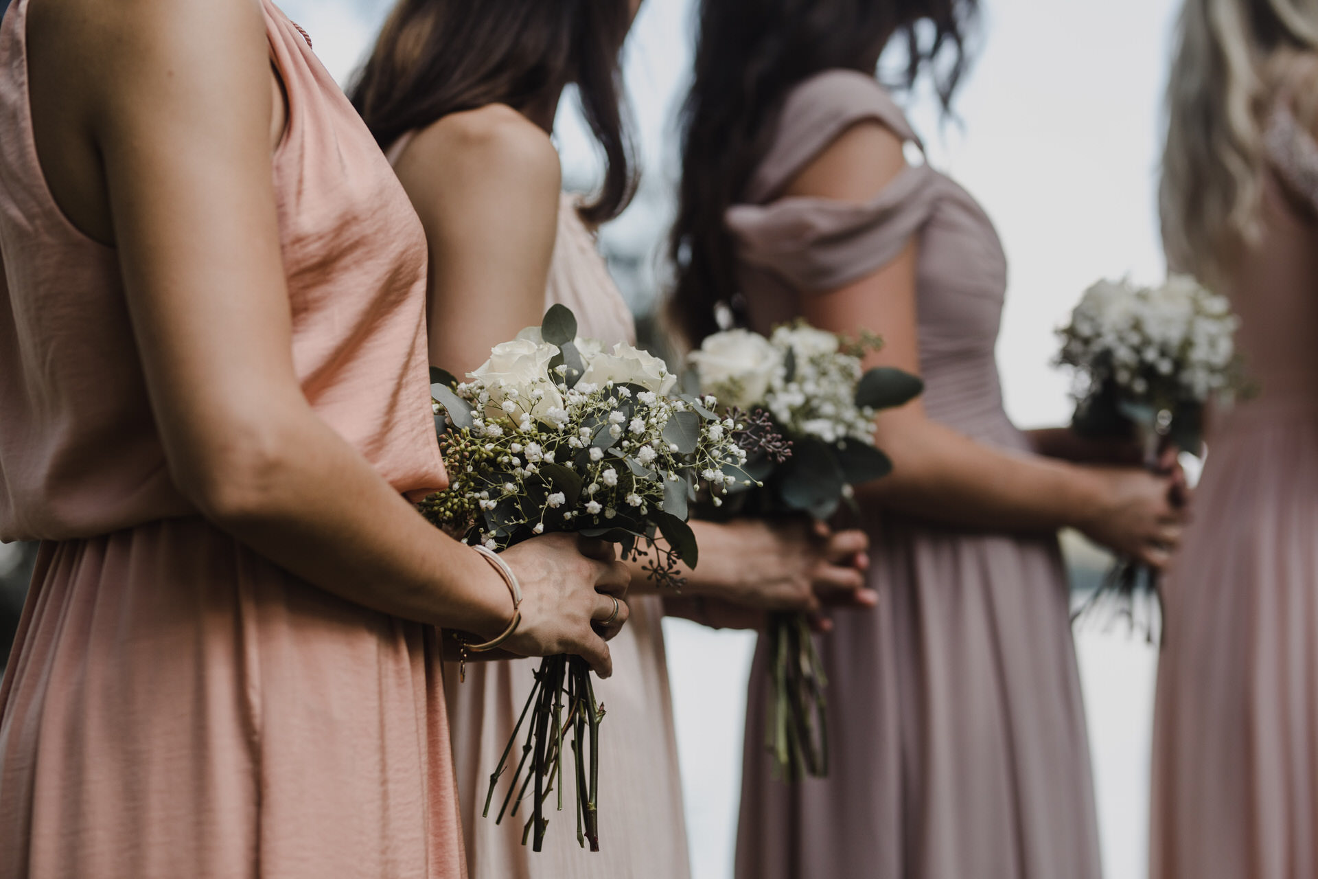 Muskoka Wedding - bridesmaids