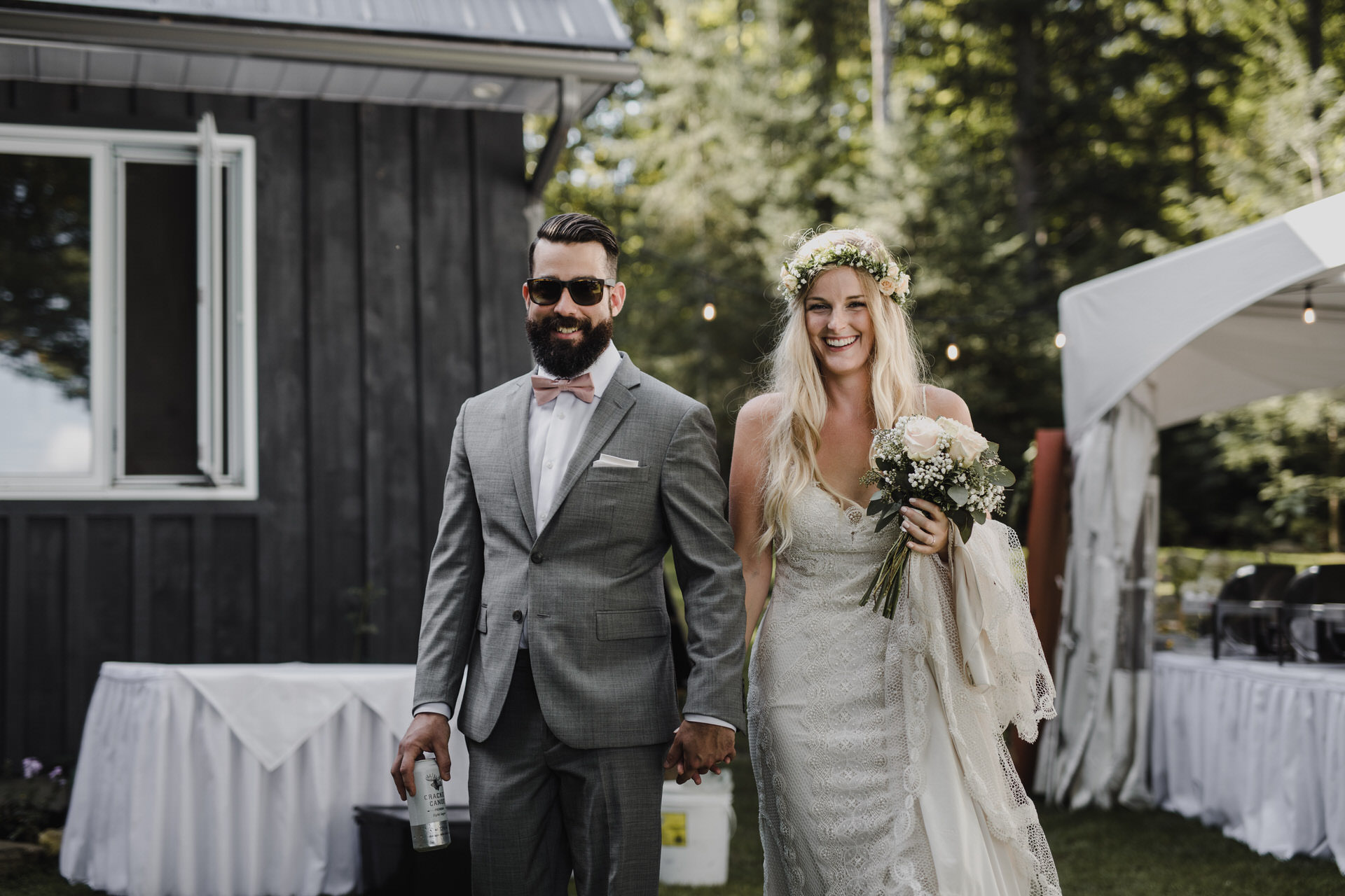 Muskoka Wedding - laid back cottage wedding