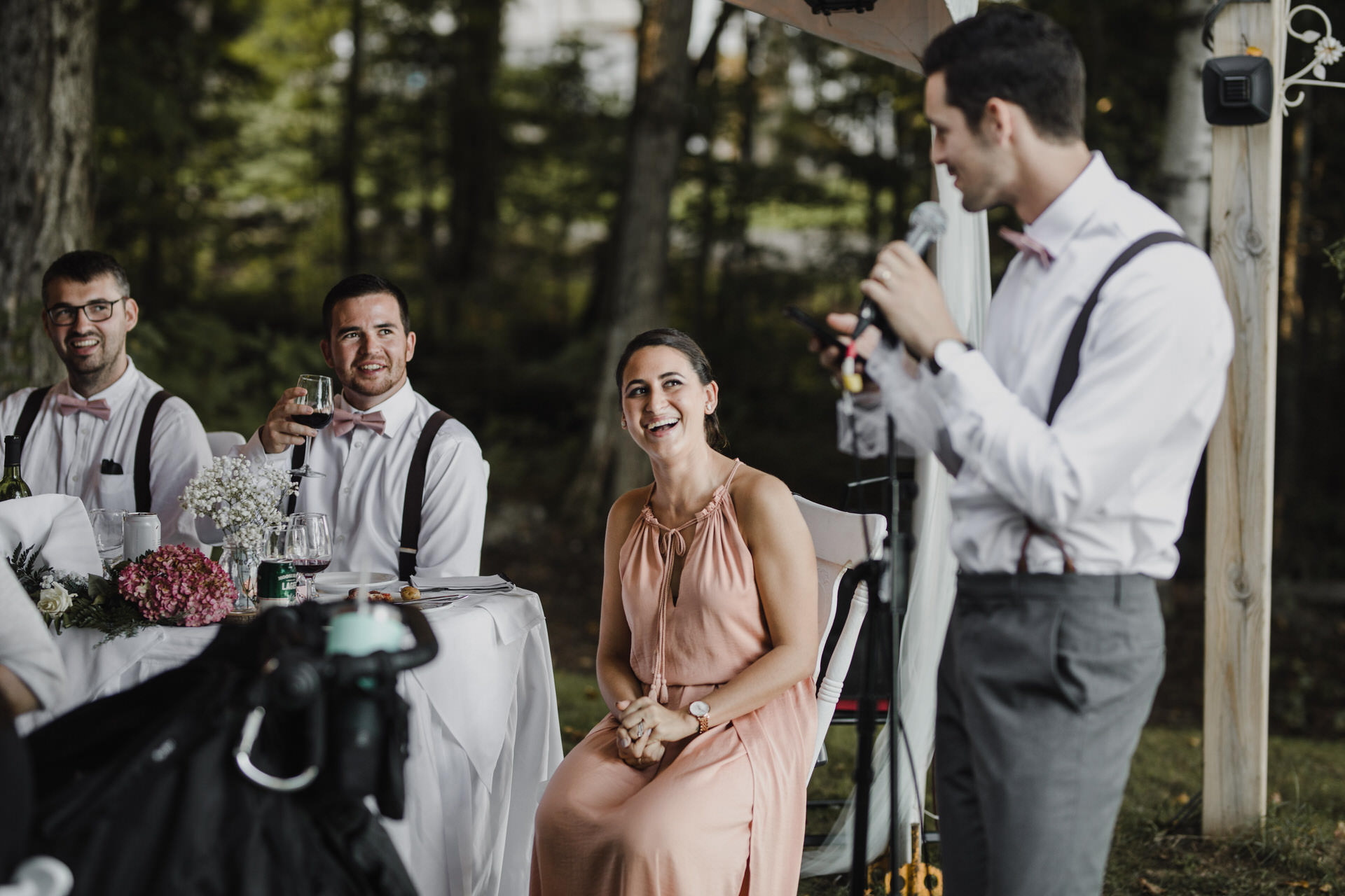 Muskoka Wedding - speeches