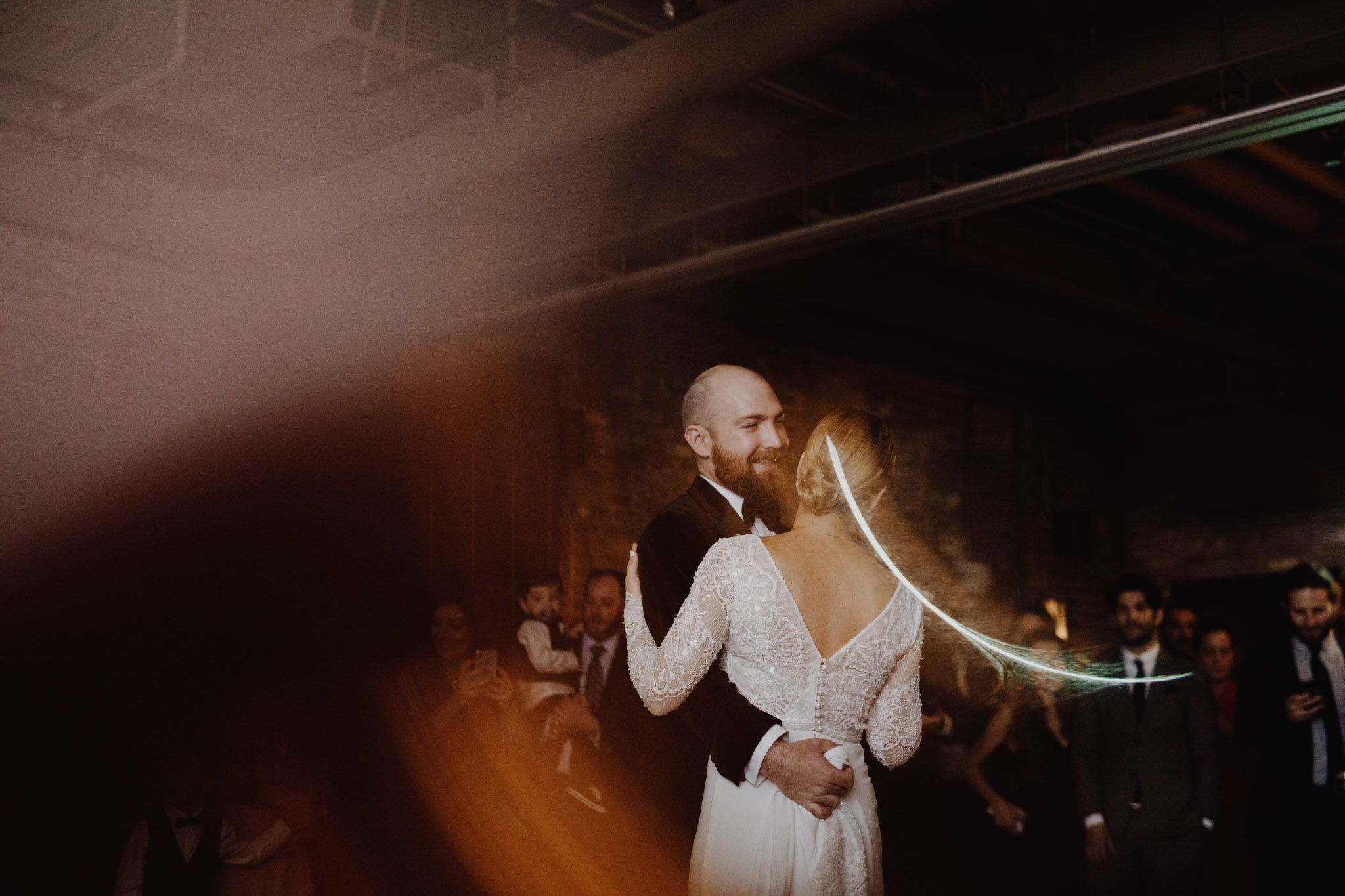 Downtown NYC Wedding - The Beekman Hotel - first dance