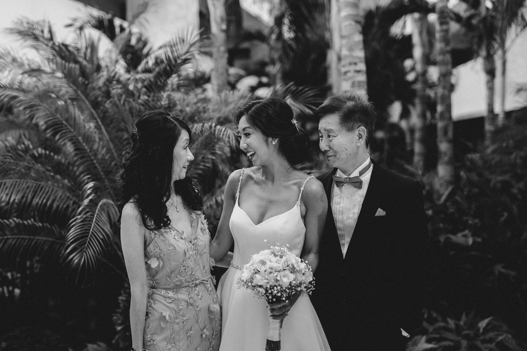 Cancun Mexico Wedding - family portraits