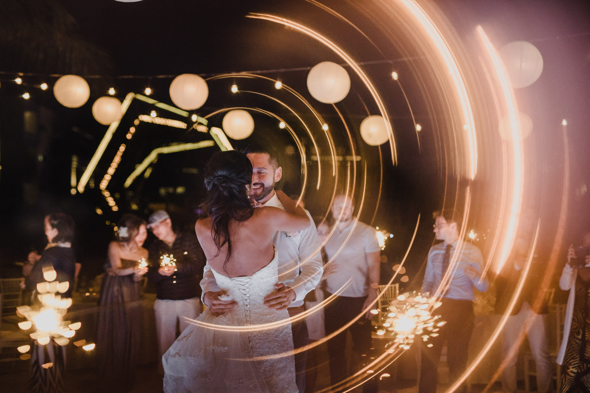 Cancun Mexico Wedding - first dance