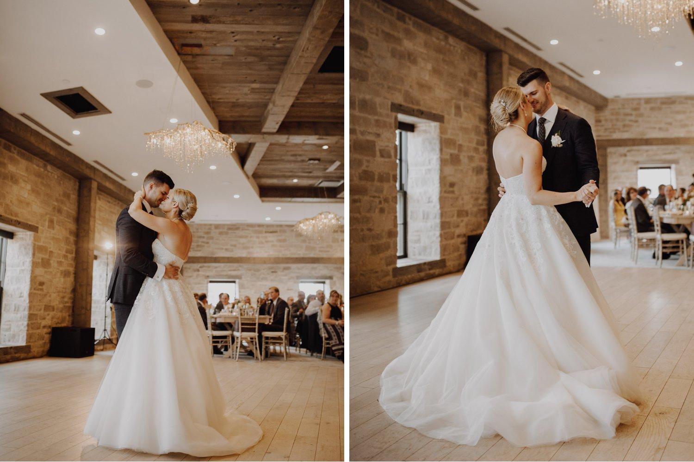 Elora Mill Wedding - first dance