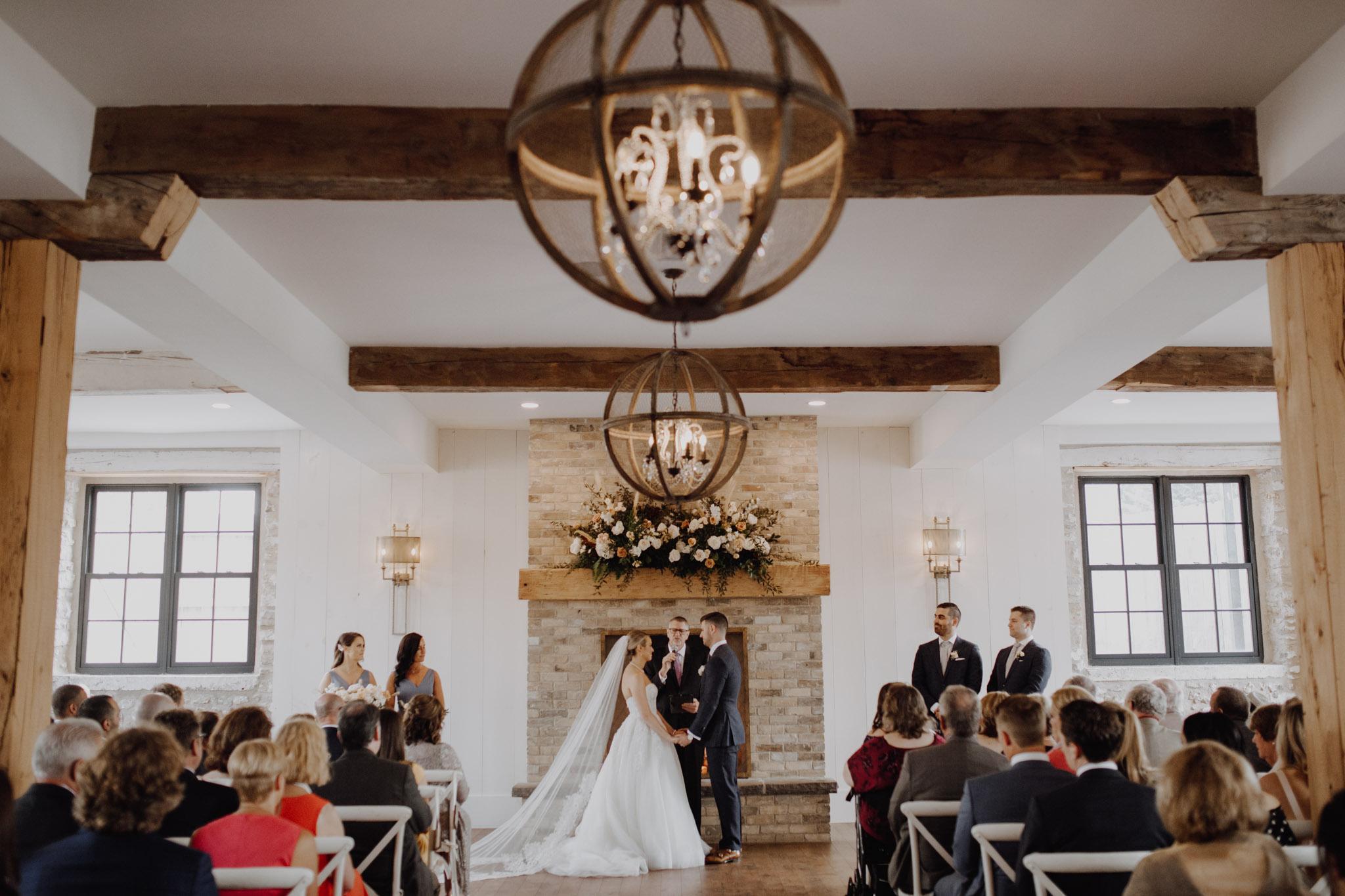 Elora Mill Wedding - ceremony