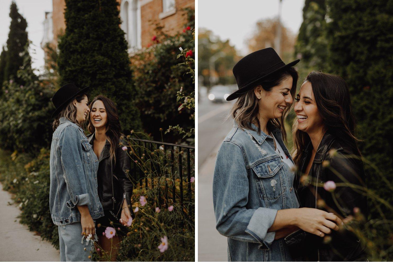 Toronto LGBTQ Engagement Photographer - Lesbian engagement