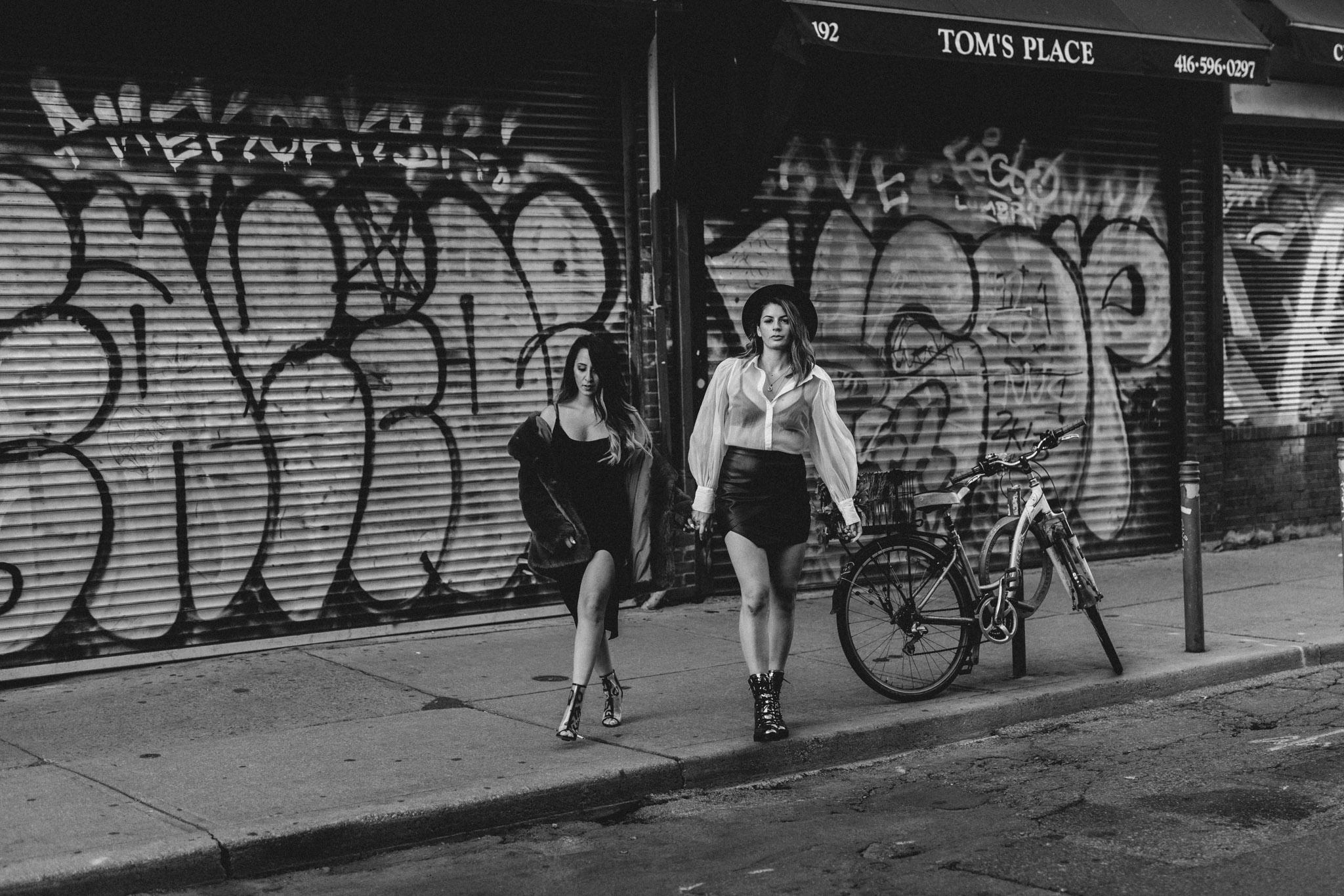 Toronto LGBTQ Engagement Photographer - strutting