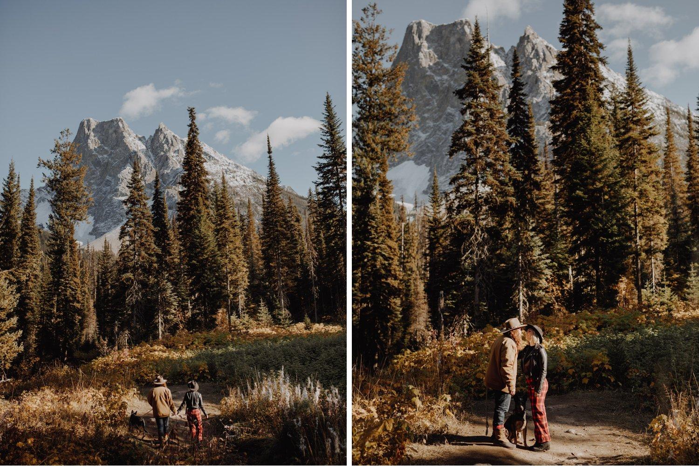 Emerald Lake - Adventure Engagement