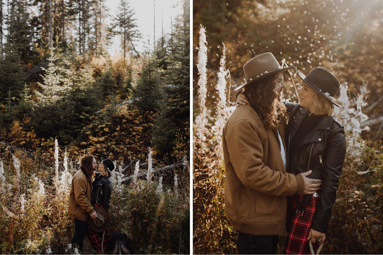 Emerald Lake - Mountain Engagement Session