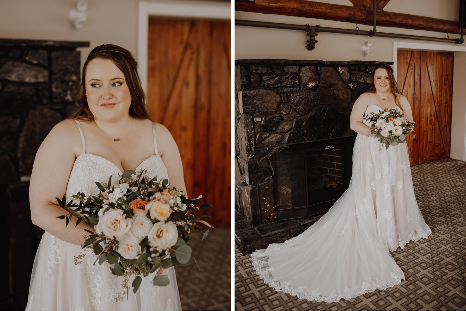 Banff Wedding - bride portraits