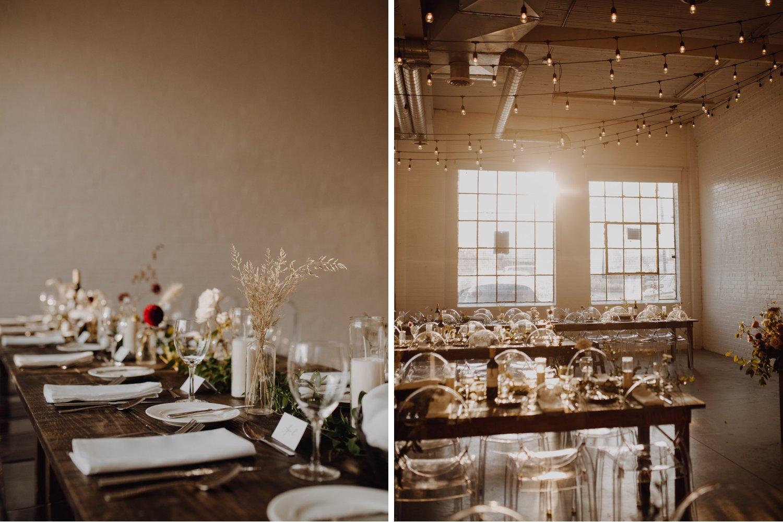 District 28 Wedding Toronto - table decor details
