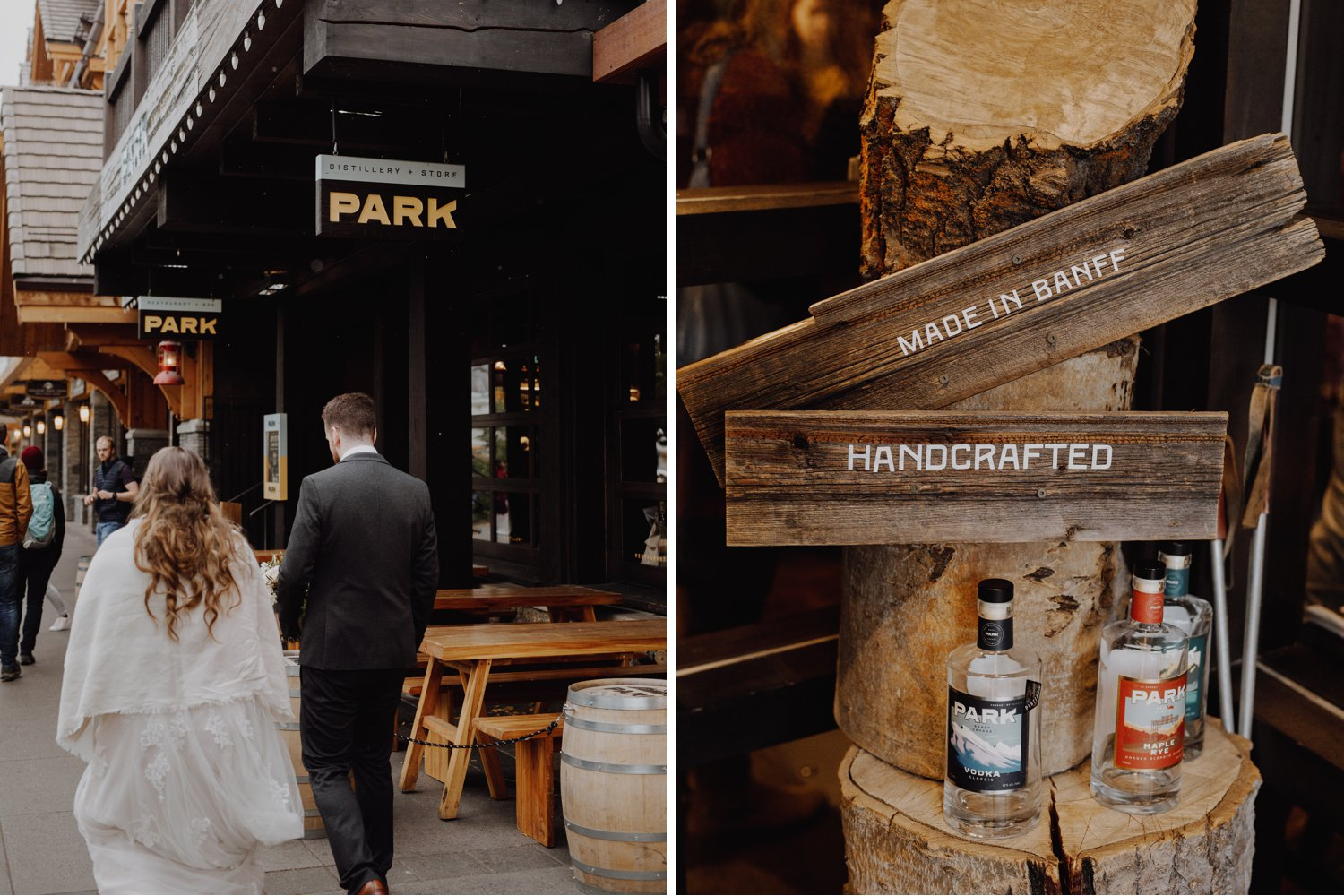 Banff Wedding - Park Distillery Wedding Details