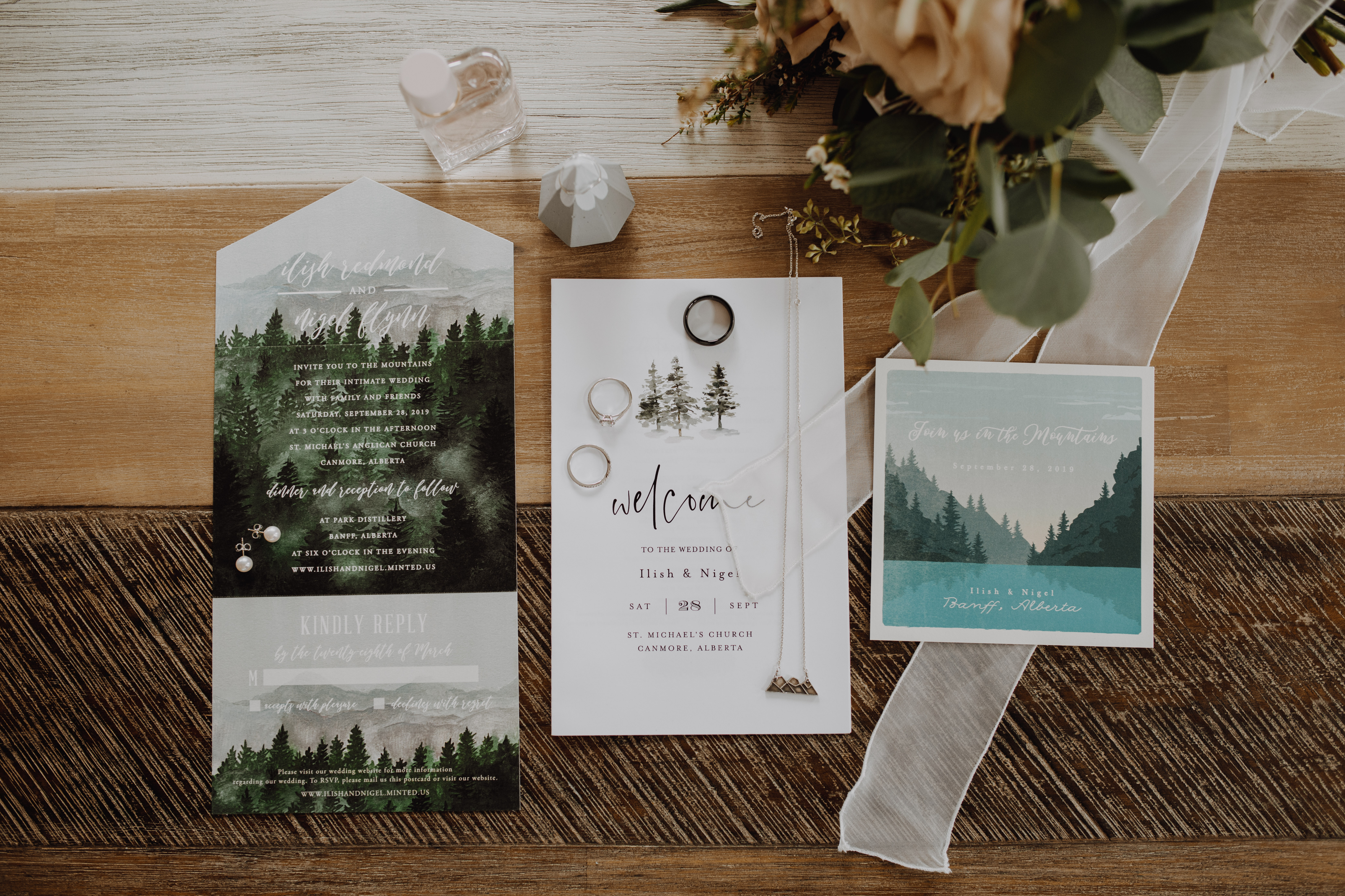 Banff Wedding - wedding details
