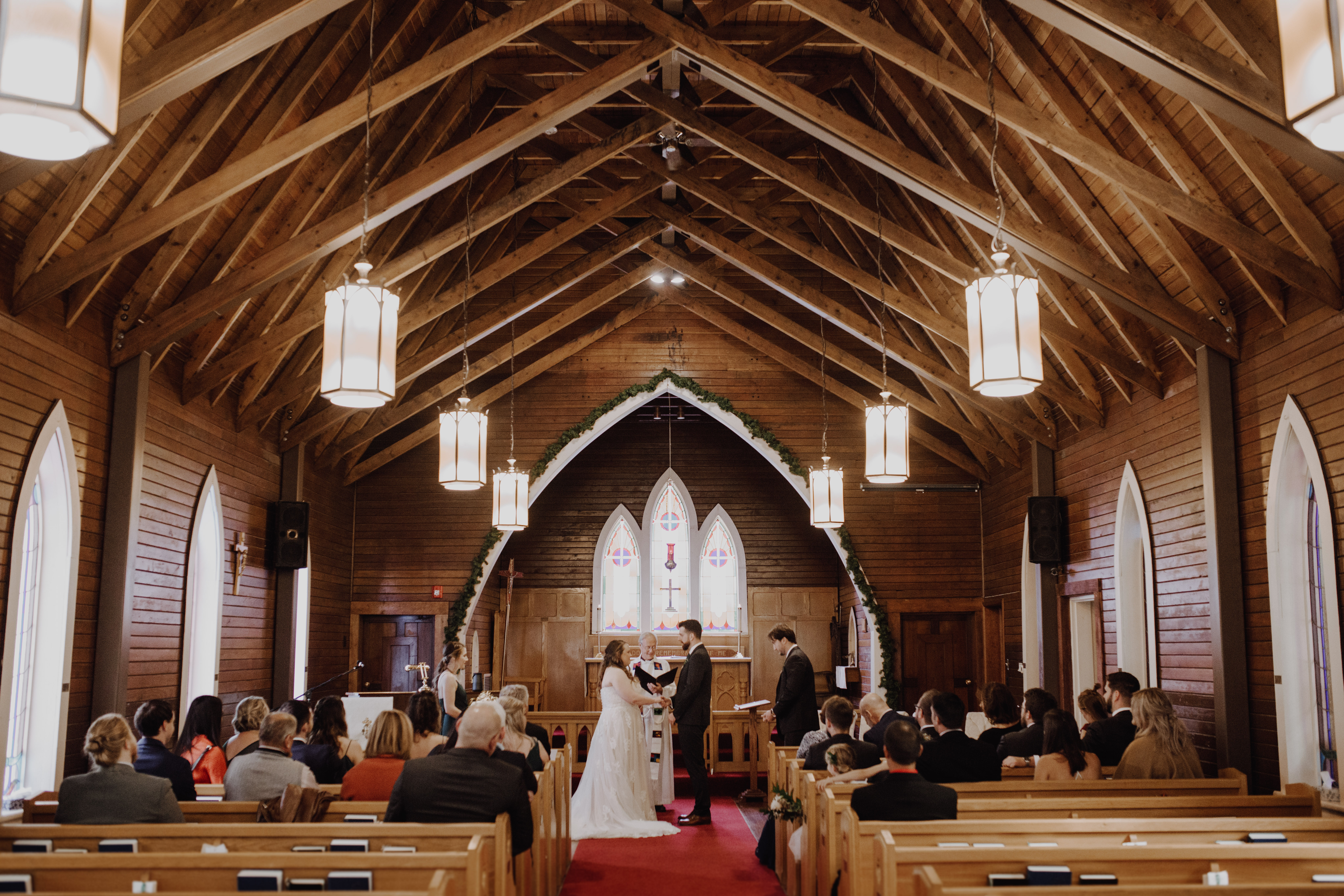 Banff Wedding - Rocky Mountain Chapel