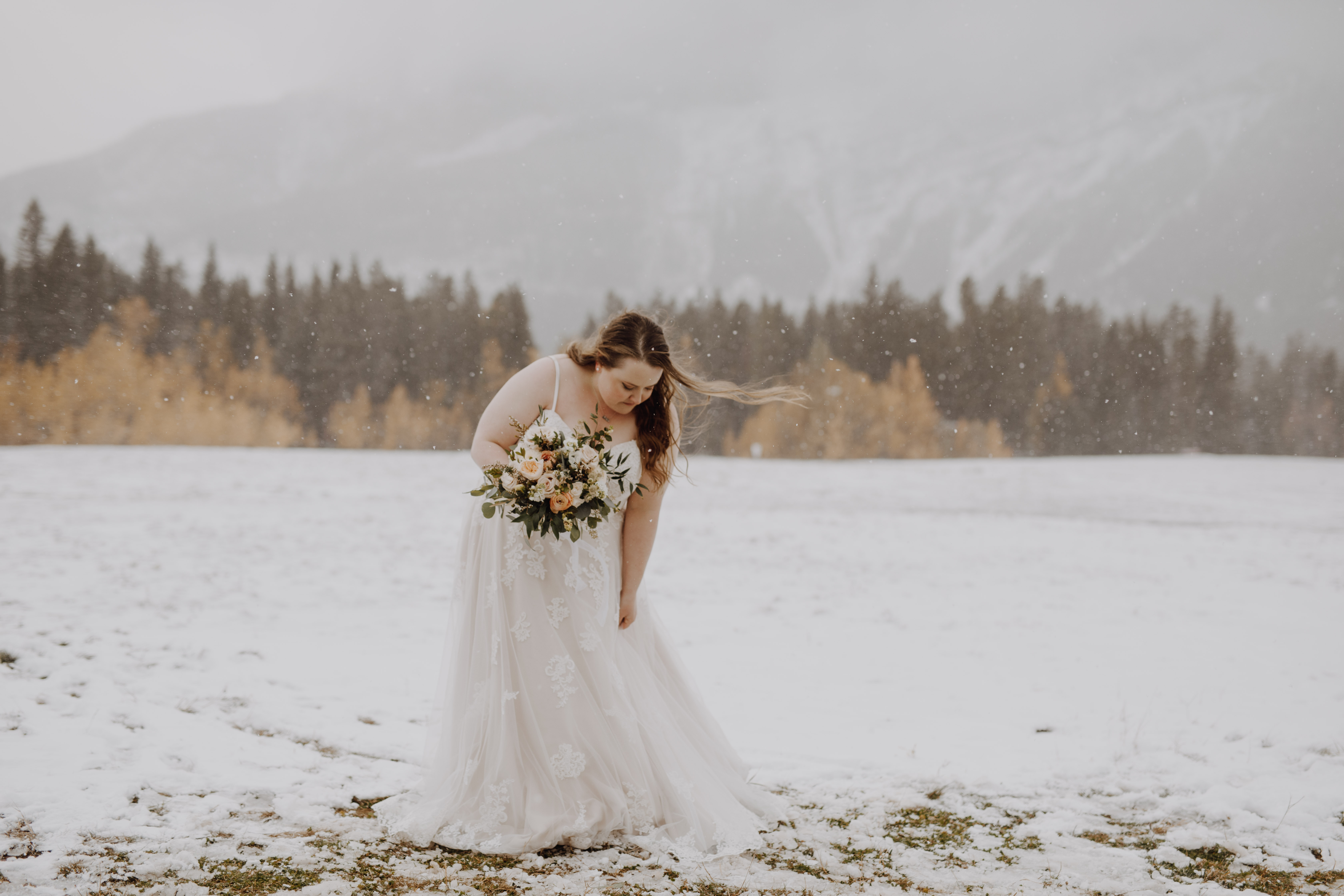 Banff Wedding - winter wedding