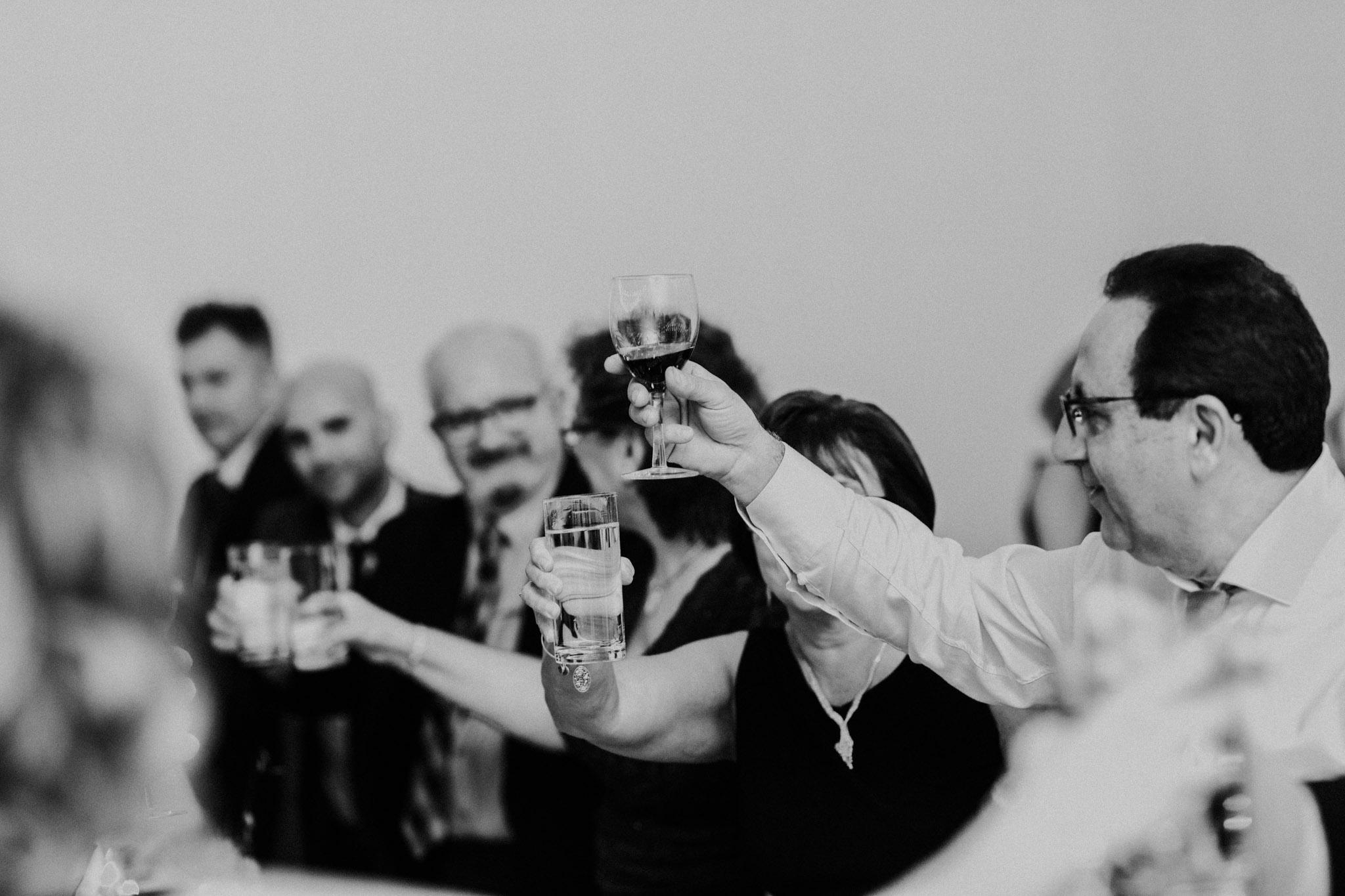 District 28 Wedding Toronto - cheers