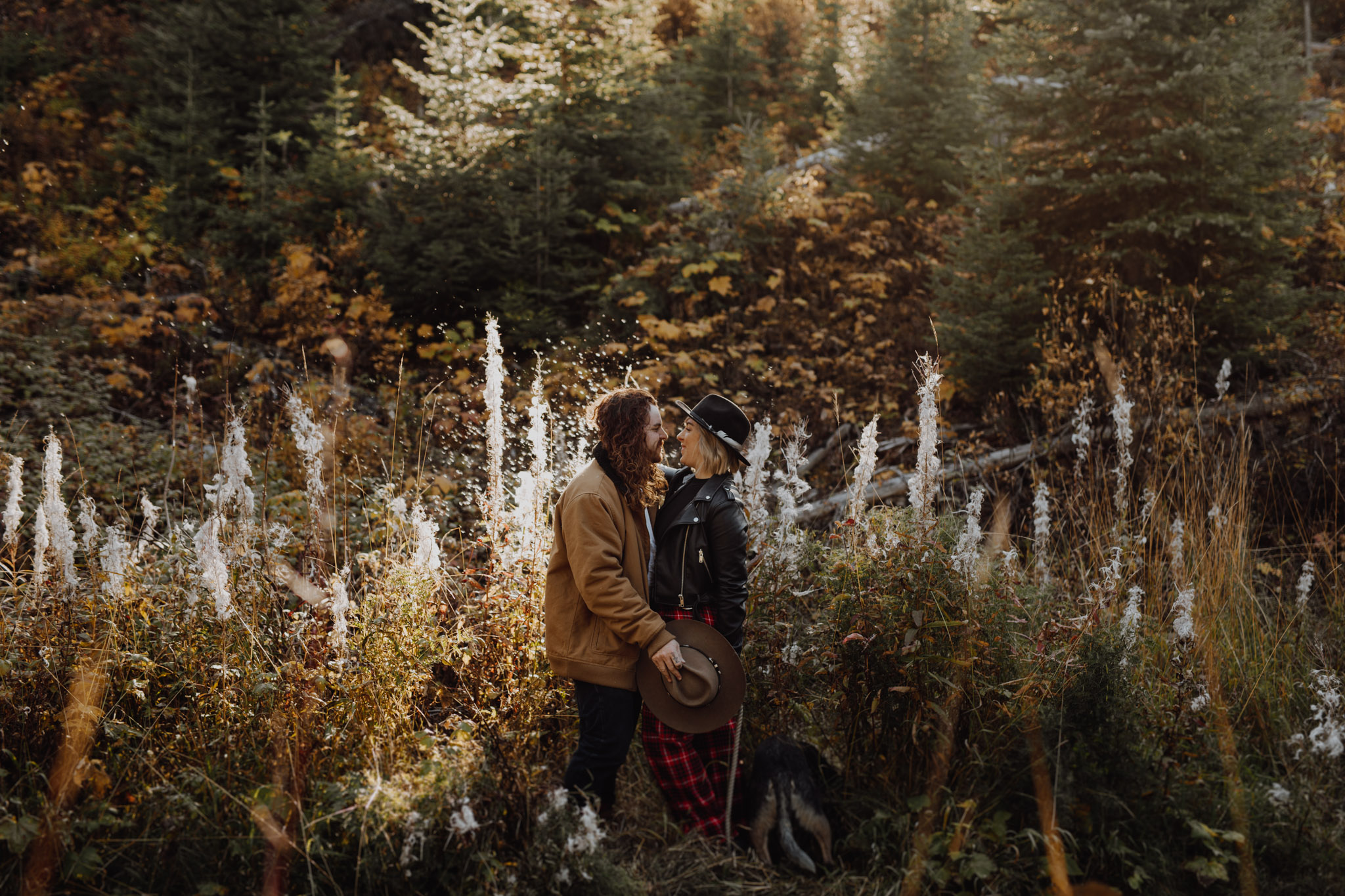 Emerald Lake - Engagement in the forest
