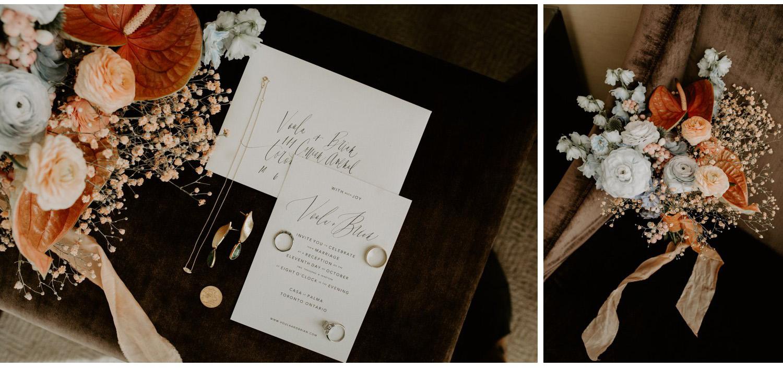 Casa La Palma Wedding - bridal details