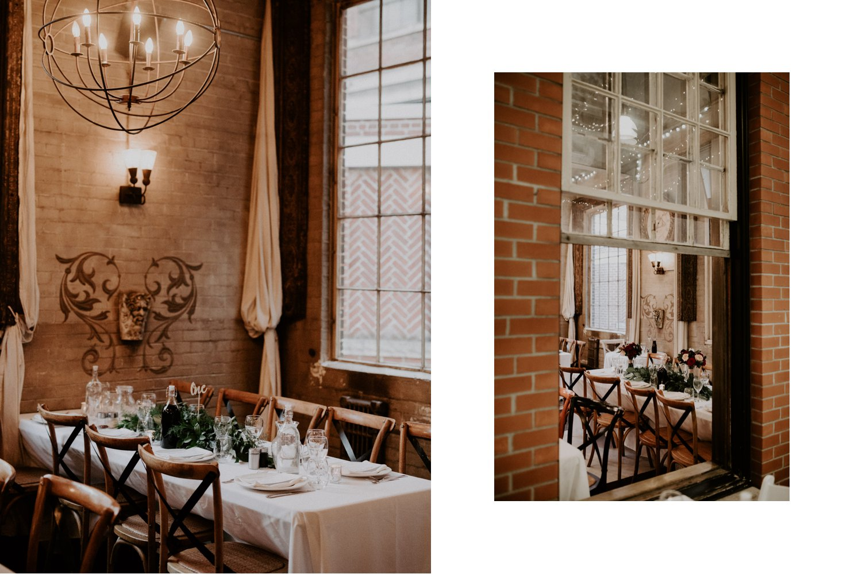 Caffino Wedding - reception decor