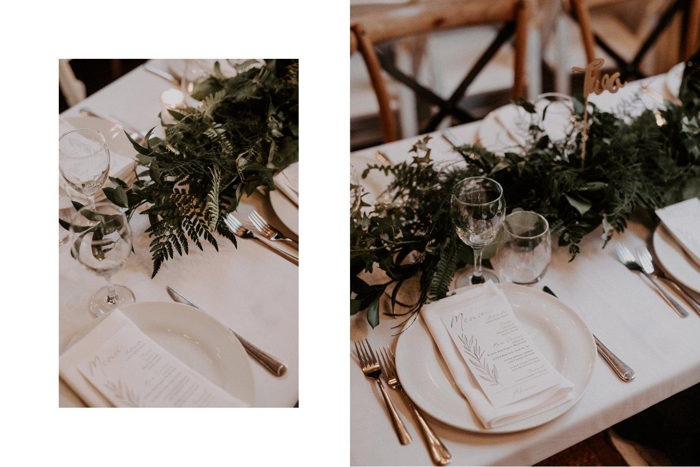 Liberty Village Wedding - Caffino table decor