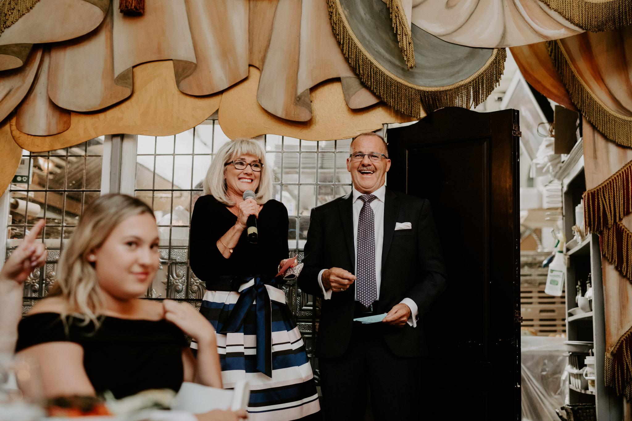 Liberty Village Wedding - parents speech