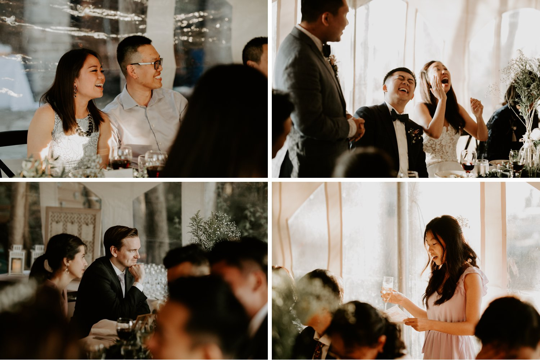 Serenity Cottage Wedding - wedding speaches