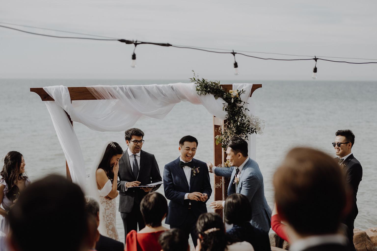 Serenity Cottage Wedding - lakeside Georgian bay nuptials